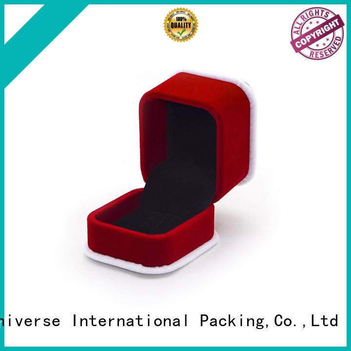 Yonghuajie obm the velvet box free sample for wedding rings