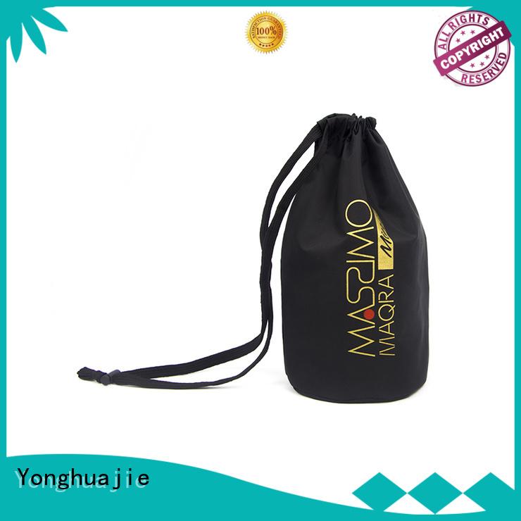 silk natural drawstring nylon drawstring bag pouch Yonghuajie