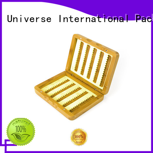 printed bamboo tea box quality gift Yonghuajie company