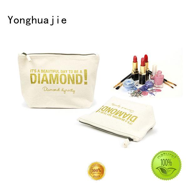 Yonghuajie printing wholesale canvas bags pvc for packaging