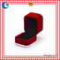 ring jewelry printed velvet love box