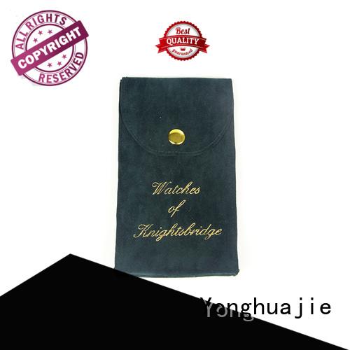 gift bag velvet jewelry bag watch velvet Yonghuajie Brand