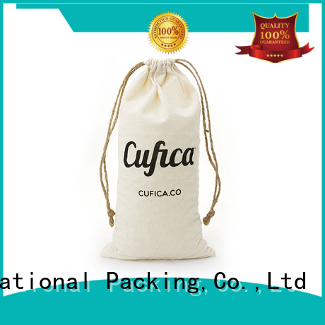 printed cotton shopping bags with power bank for shopping Yonghuajie