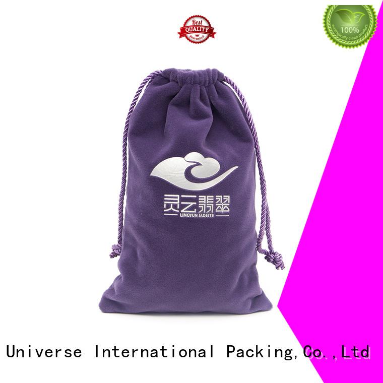 velvet jewelry bag printed velvet Yonghuajie Brand velvet makeup bag