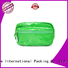 Yonghuajie oem silver makeup bag pu leather for gift