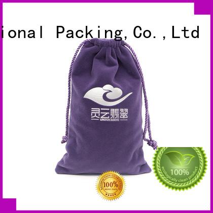 Yonghuajie Brand storage luxury velvet makeup bag manufacture