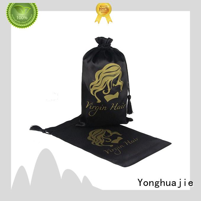 Yonghuajie soft satin gift bags for shopping