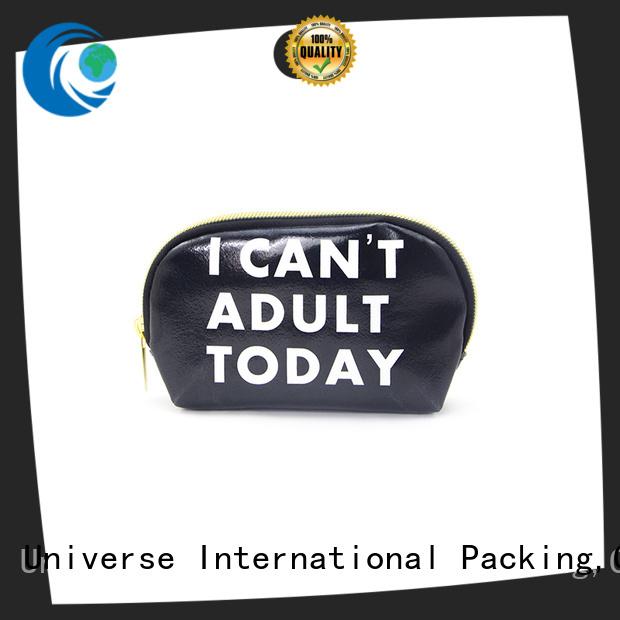 large personalised leather makeup bag free sample Yonghuajie
