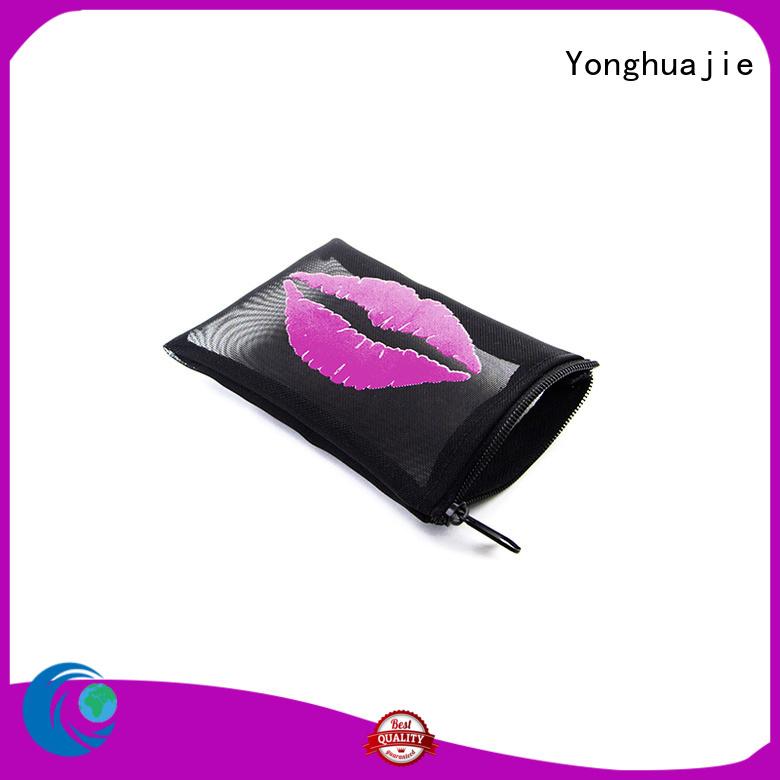 mesh beach bag drawstring for packaging Yonghuajie