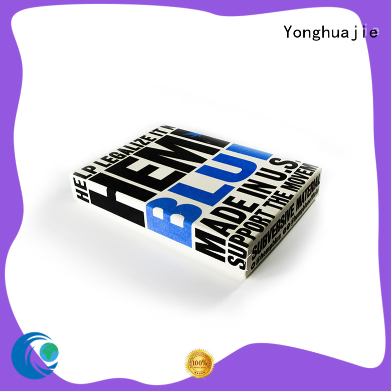 Yonghuajie customized fashion box glitter for shopping
