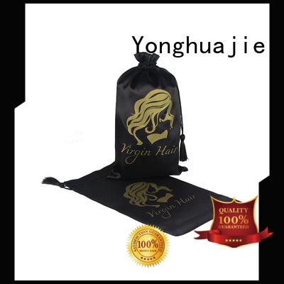satin bags soft for cosmetics Yonghuajie