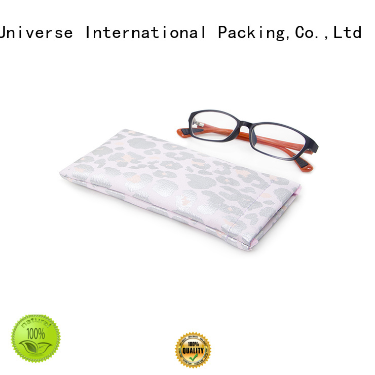 pocket sunglasses leather cosmetic pouch Yonghuajie manufacture