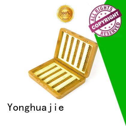 bamboo tea box top quality Yonghuajie