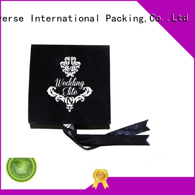 luxury jewelry custom velvet Yonghuajie Brand the velvet box supplier