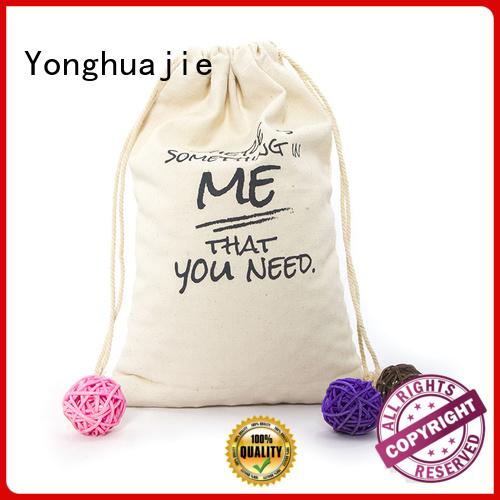 Yonghuajie Brand blank tool bag personalized canvas tote bags packaging