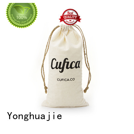 Yonghuajie digital cotton shopping bags with power bank for packaging
