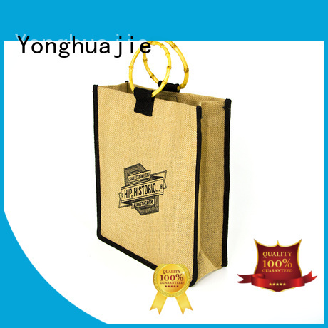 Yonghuajie latest jute bags manufacturers high-quality for packing