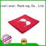 Yonghuajie Brand made printing durable nylon mesh bag orange