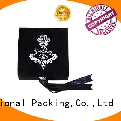 luxury velvet custom the velvet box Yonghuajie Brand company