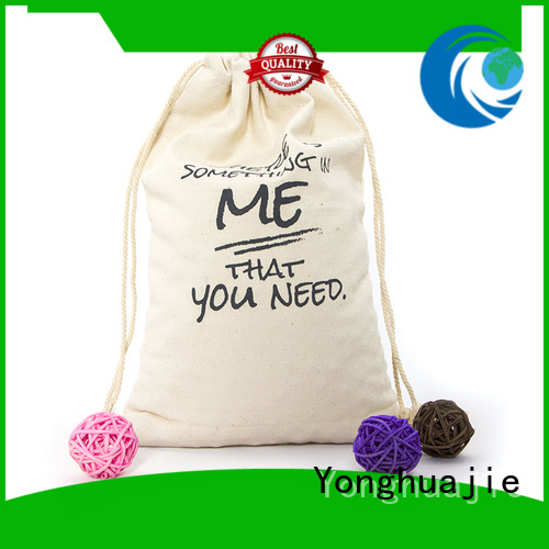 personalized canvas tote bags double layers for jewelry Yonghuajie