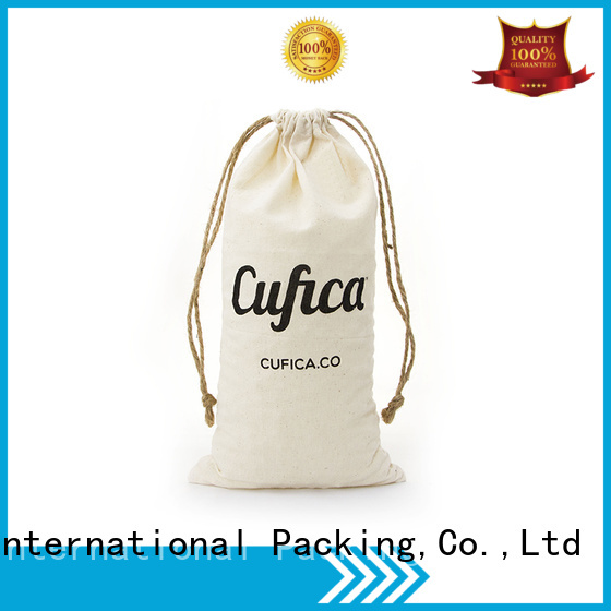 cotton carry bags storage drawstring cotton drawstring bags Yonghuajie Brand