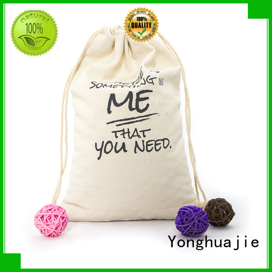 bag Custom strong canvas tote bags wholesale large Yonghuajie