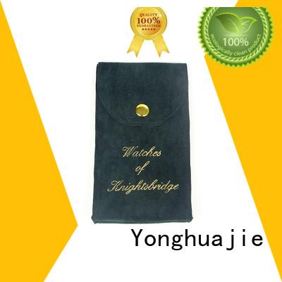 bag drawstring Yonghuajie Brand velvet jewelry bag