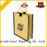 jute gift bags burlap wine Bulk Buy drawstring Yonghuajie