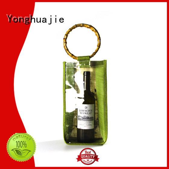 Custom coffee jute sack                                                                                                                                                                                               jute shopping bag wine Yonghuajie