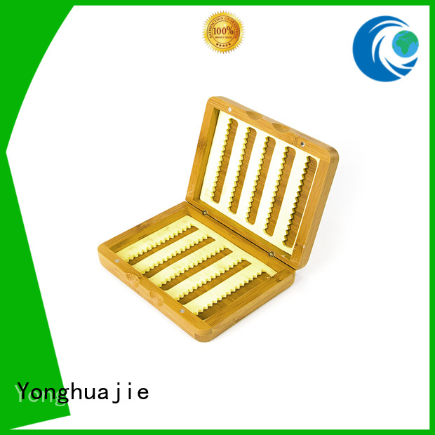 Hot gift bamboo tea box natural box Yonghuajie Brand