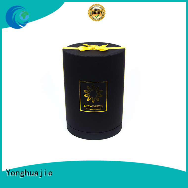 Yonghuajie printed custom paper box ribbon for packing