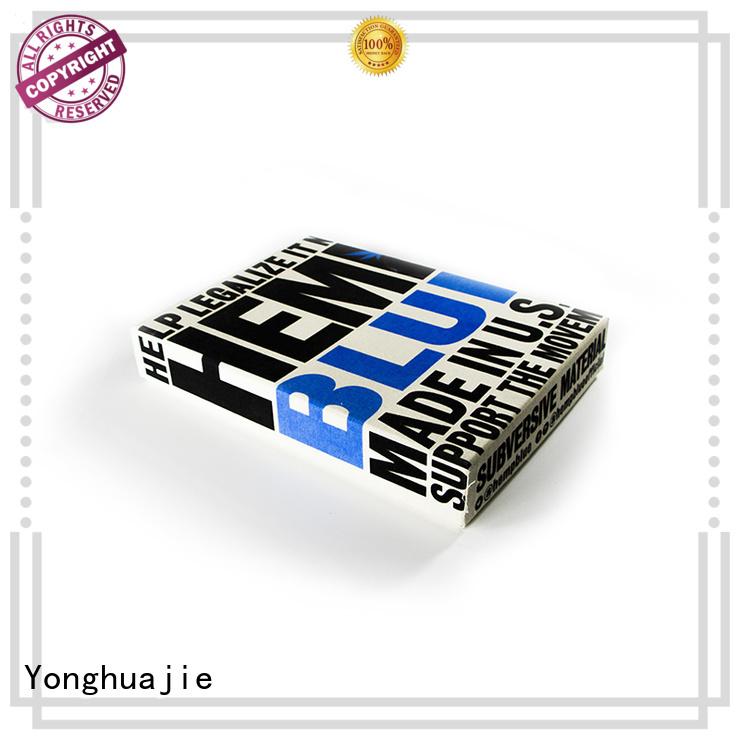 Yonghuajie printing men's clothing stylist pvc for packaging