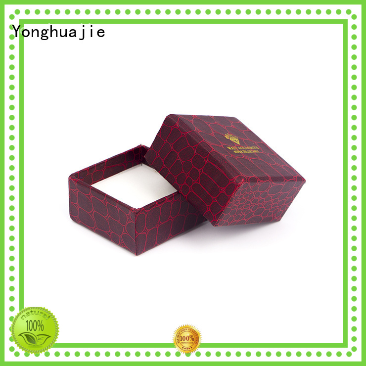 fold paper box packaging round made Yonghuajie Brand paper gift box
