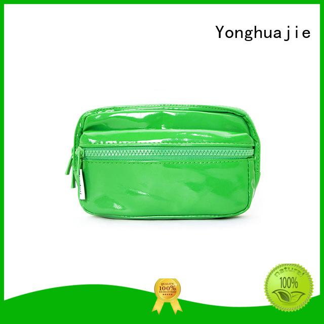 Custom printed leather makeup bag pocket Yonghuajie