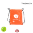 Yonghuajie Brand drawstring bag printing plain nylon drawstring bag