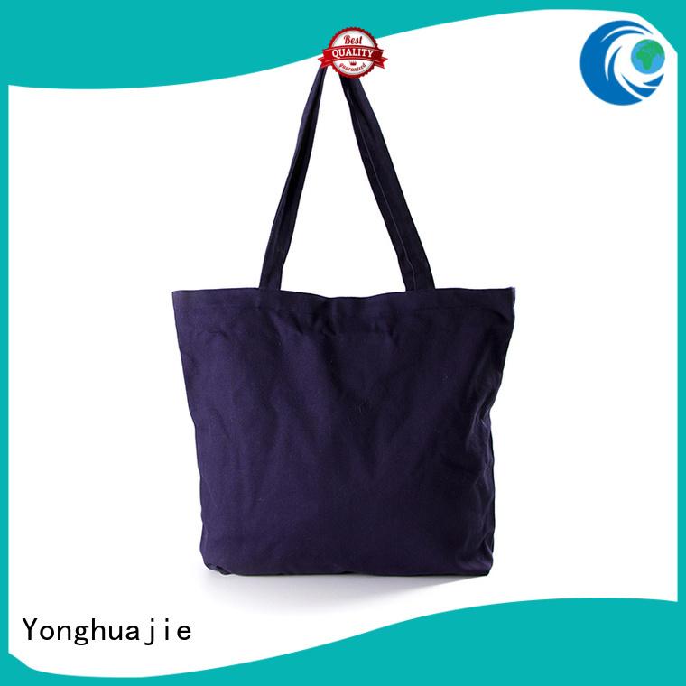 size order packaging canvas tote bags wholesale Yonghuajie
