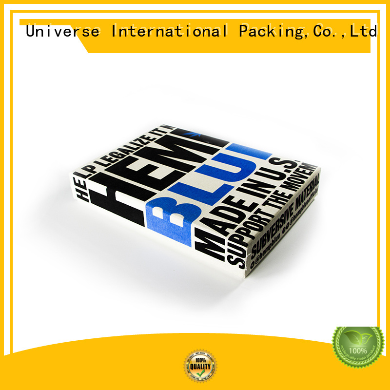 Yonghuajie printing custom clothing boxes striped for shopping