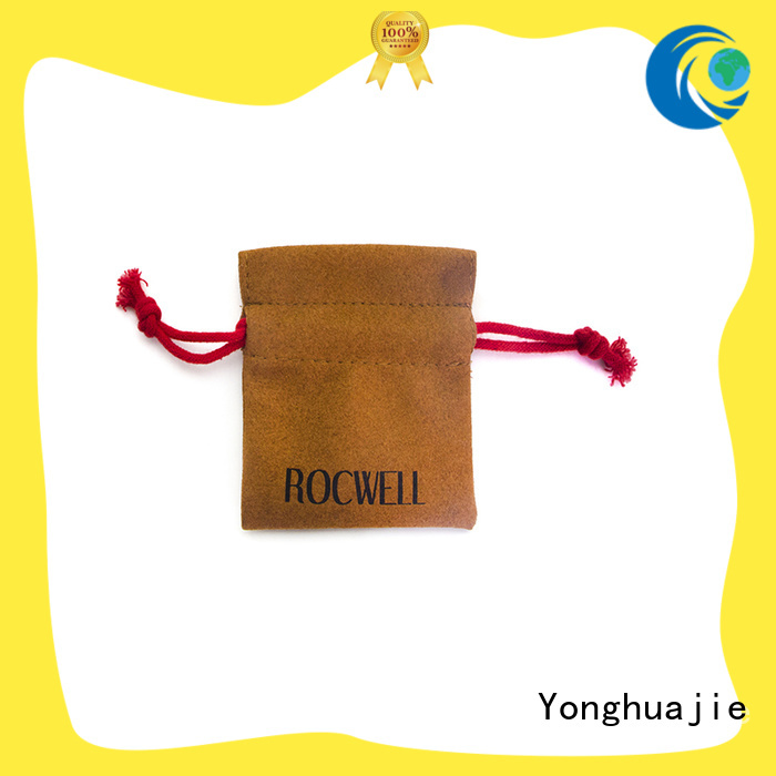 free delivery grey suede bag suede jewelry pouch suede drawstring bagnew arrivalfree sample for present