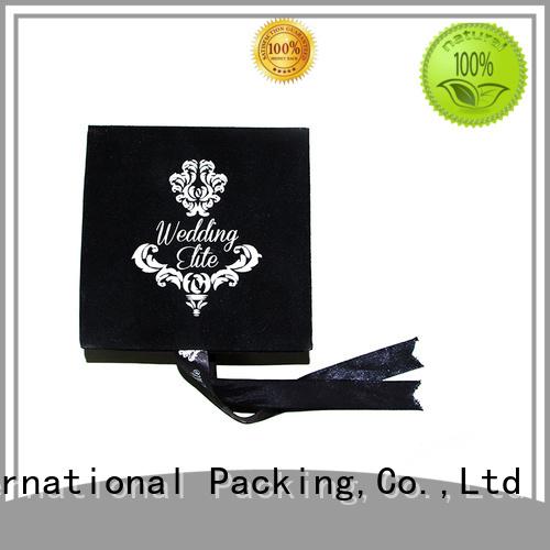Yonghuajie oem the velvet box high-quality