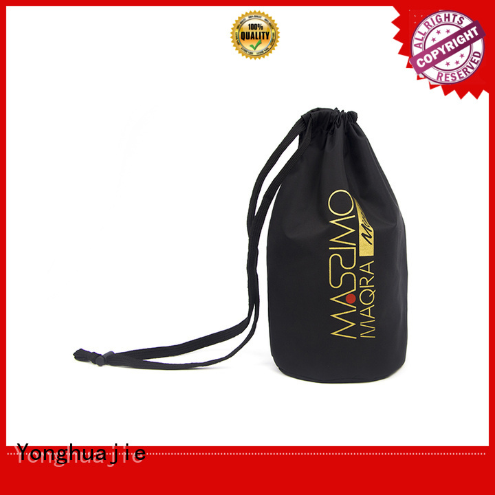 Yonghuajie drawstring polyester tote bags with power bank