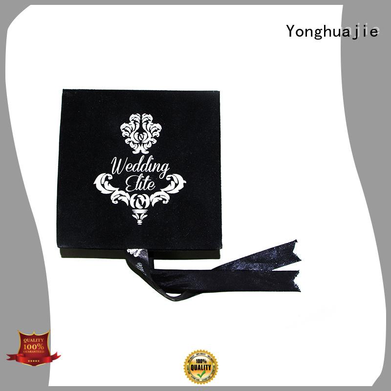 Wholesale printed luxury the velvet box Yonghuajie Brand