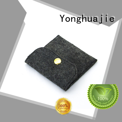 high-end bag storage felt tote bag Yonghuajie Brand