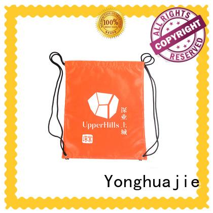 Yonghuajie mesh zipper bag drawstring for storage