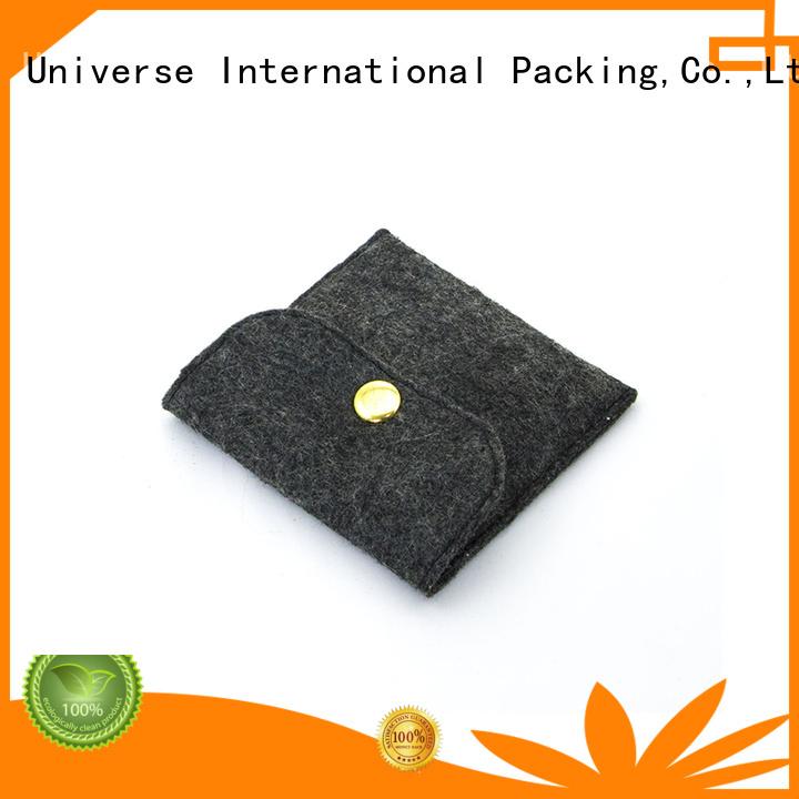Yonghuajie felt pouch felt storage bag felt shopping bag felt jewelry bag embroidered for gift packing
