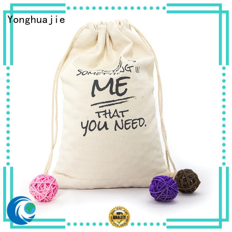 tote zipper canvas tote bags wholesale order Yonghuajie