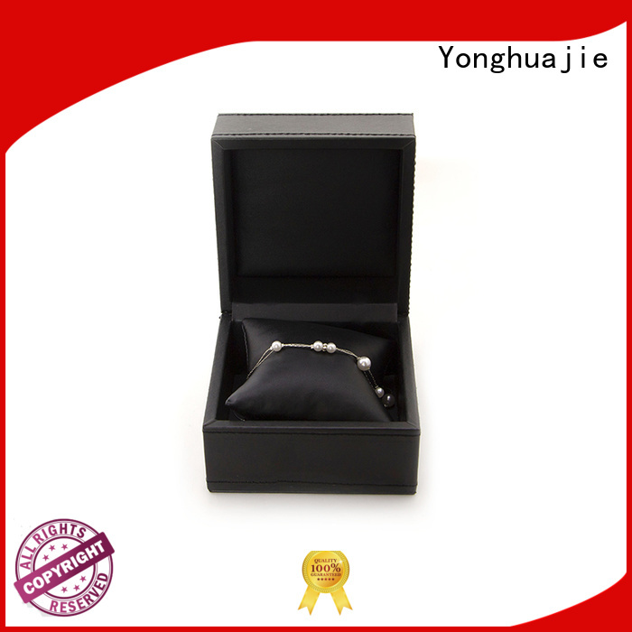 custom leather ring box fast delivery for necklace