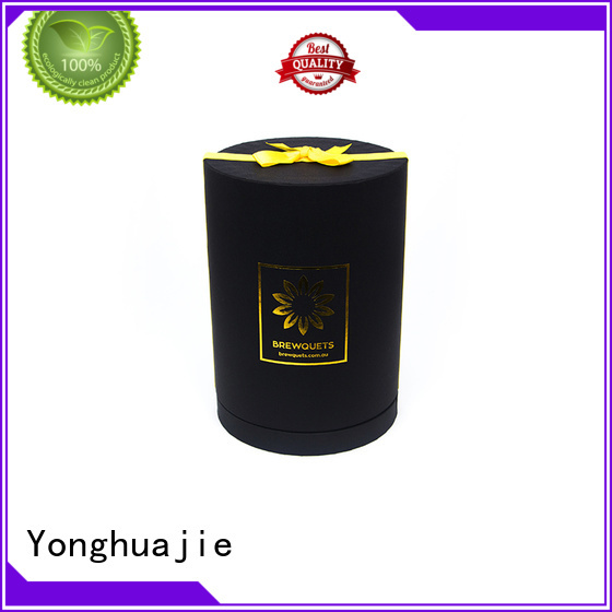 packing round paper gift box packaging Yonghuajie Brand company