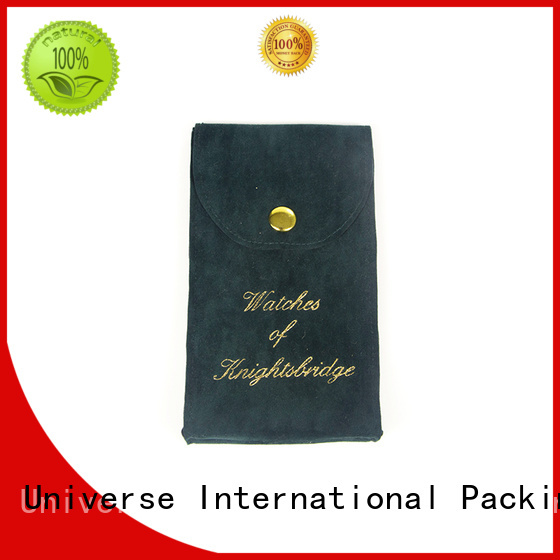 top manufacturer velvet pouch printed logo for jewelry shop Yonghuajie
