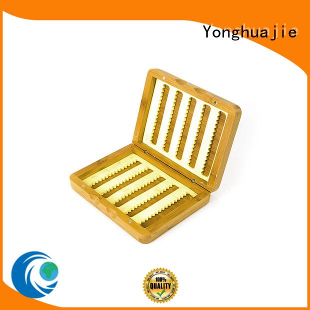 Hot good bamboo jewelry box box Yonghuajie Brand