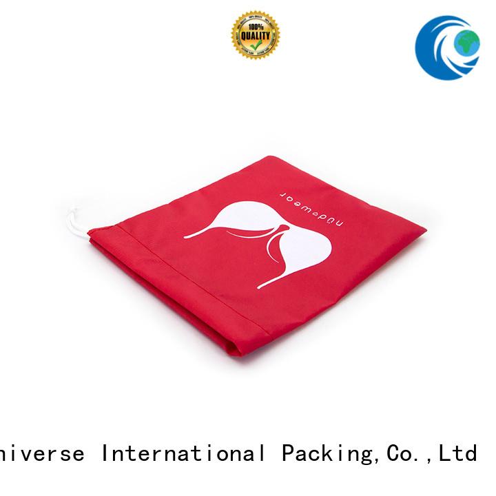 nylon mesh bag silk orange nylon drawstring bag durable company
